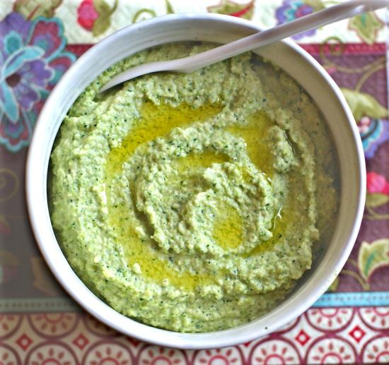 Bean Free Broccoli Hummus