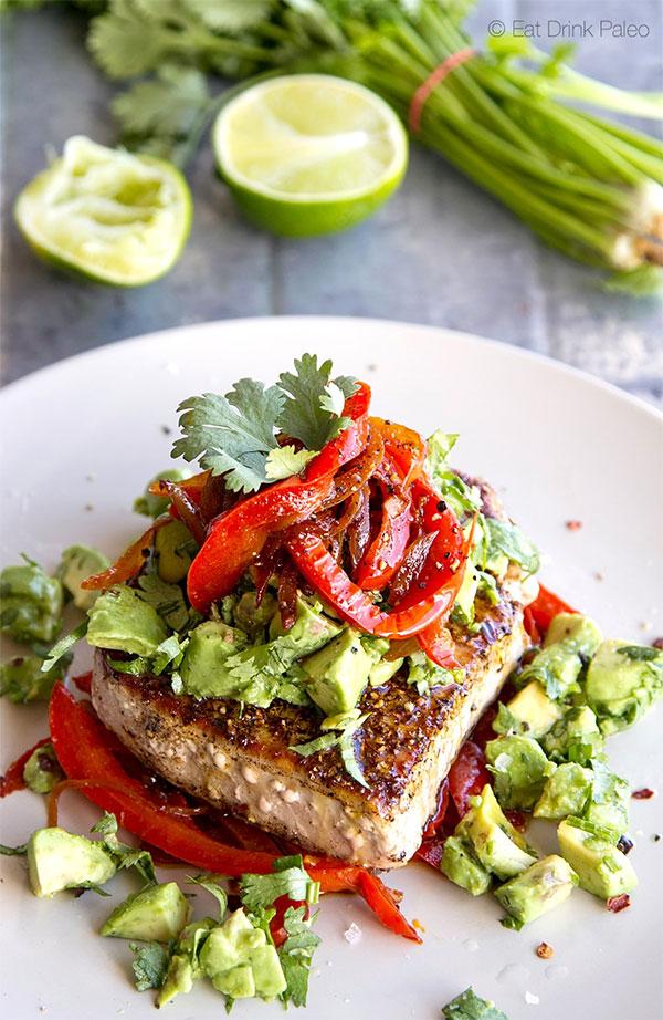 Mexican Tuna Steak
