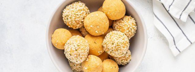 Sunbutter Pumpkin Protein Balls